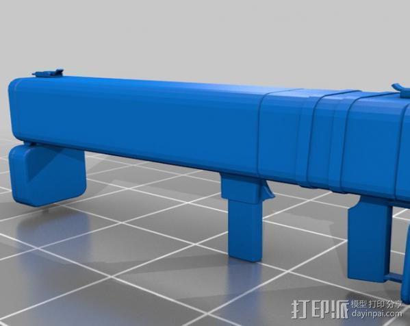 边防要塞 黑盒子 3D模型  图1