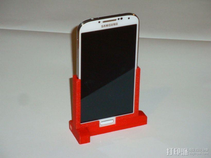 三星Galaxy S4 手机支架 3D模型  图3