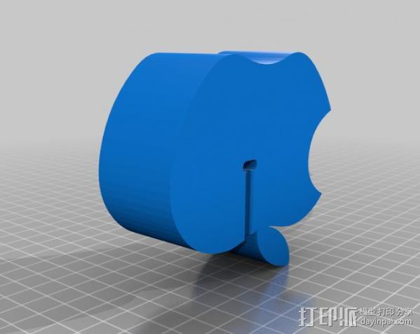 苹果手机座 手机架 3D模型  图2