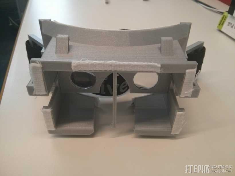 虚拟现实眼镜 谷歌纸盒  3D模型  图1