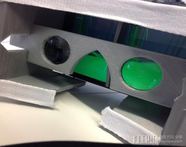 虚拟现实眼镜 谷歌纸盒  3D模型  图4