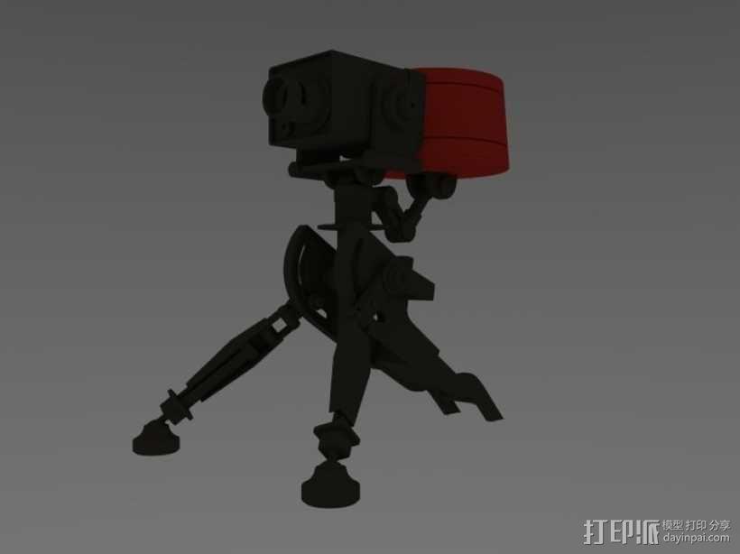 边防要塞2 重炮口径三角自动步枪 3D模型  图1