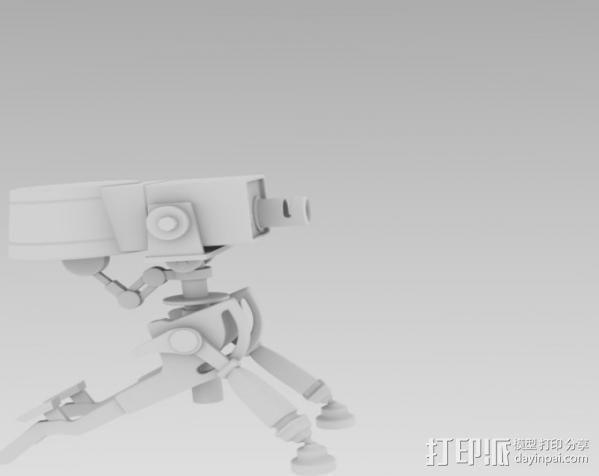 边防要塞2 重炮口径三角自动步枪 3D模型  图4