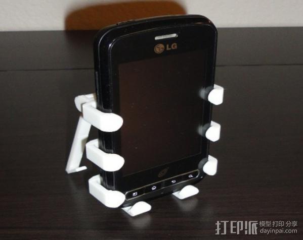 LG Optimus Q手机支架  3D模型  图2