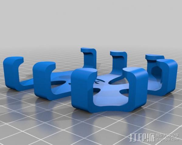 LG Optimus Q手机支架  3D模型  图5