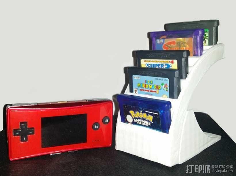 游戏卡收纳盒 3D模型  图1