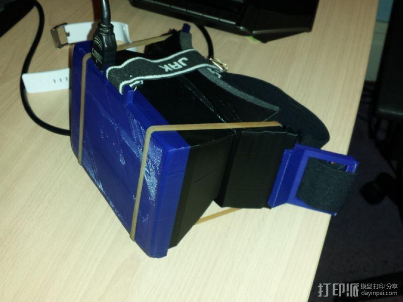 PC版虚拟现实眼镜 3D模型  图1