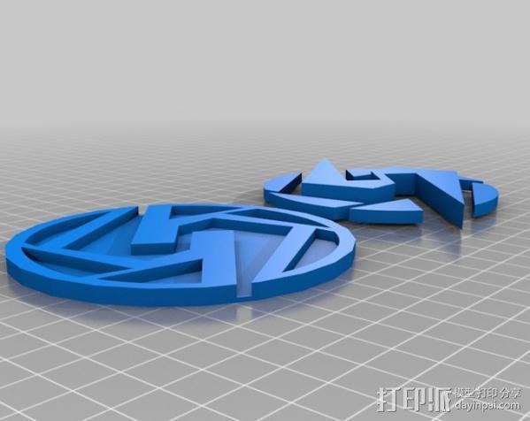 Super Metroid 超级银河战士标志 3D模型  图3