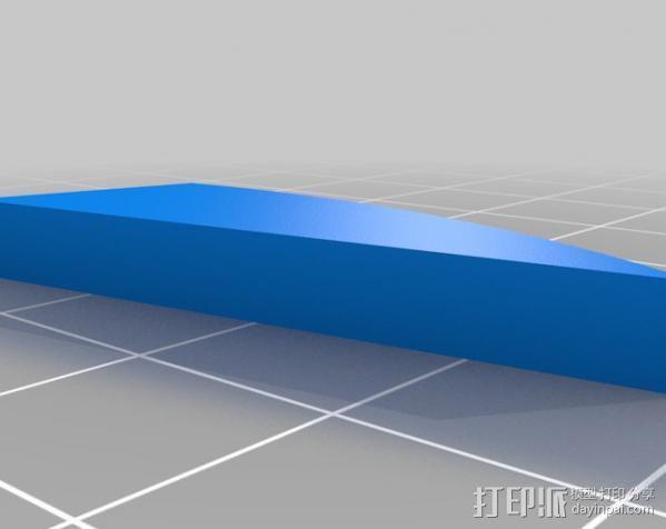 Super Metroid 超级银河战士标志 3D模型  图2