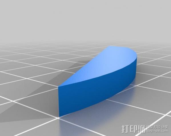 Super Metroid 超级银河战士标志 3D模型  图5