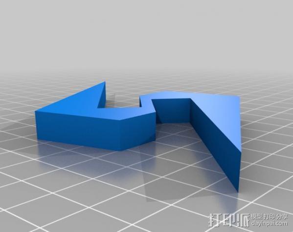 Super Metroid 超级银河战士标志 3D模型  图8