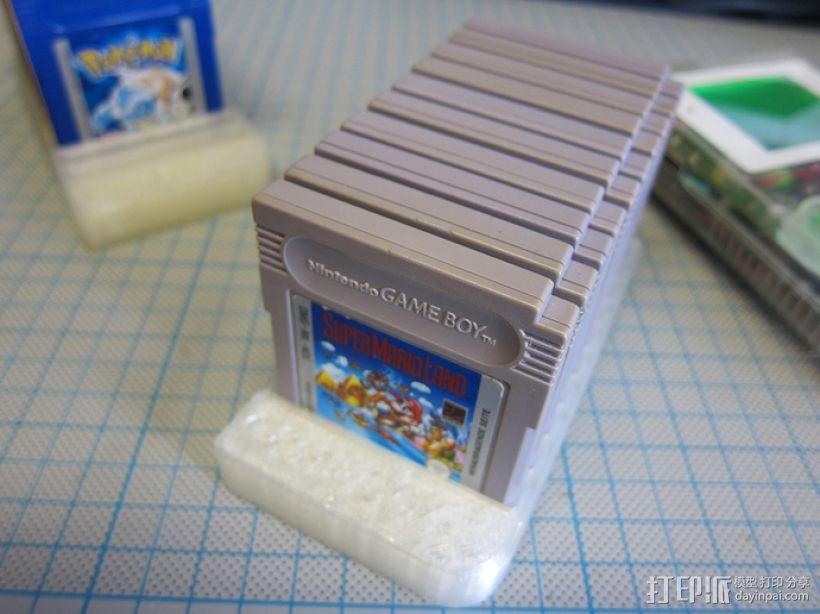 Game Boy游戏卡 收纳盒 3D模型  图1