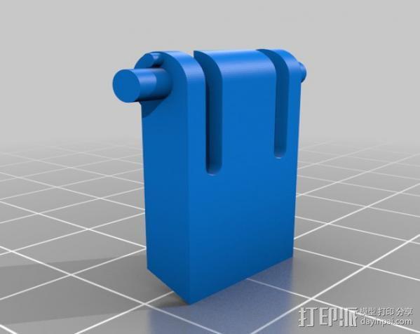 键盘支撑器 支撑脚 3D模型  图2