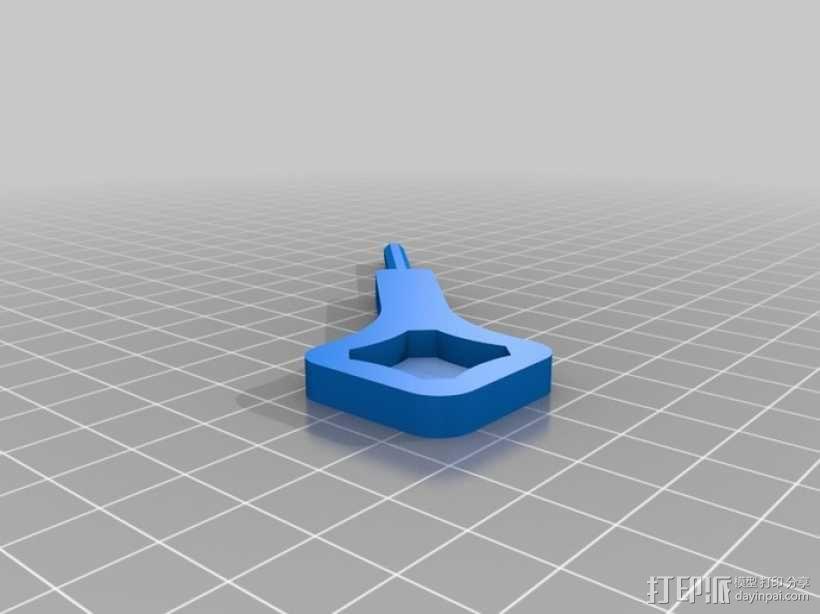 扳手 3D模型  图1