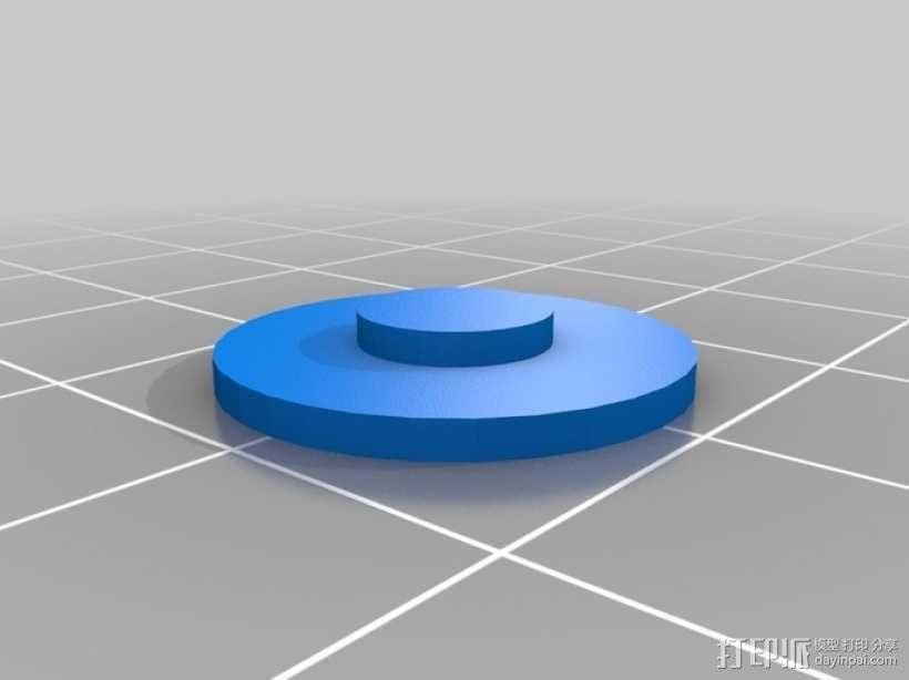 MacBook Pro 苹果笔记本电脑底垫 3D模型  图2