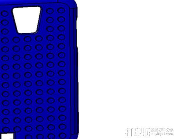 三星 Galaxy S4手机保护外壳 3D模型  图1
