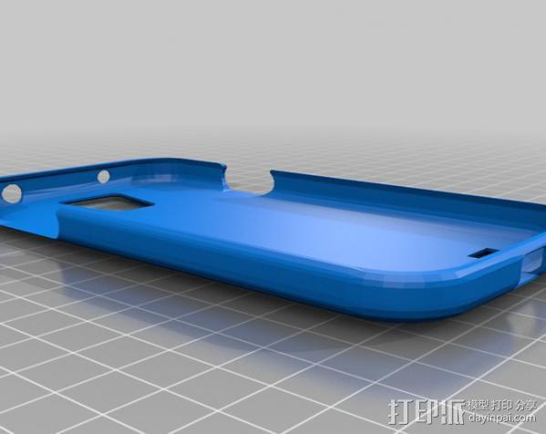 三星 Galaxy S4手机保护外壳 3D模型  图3