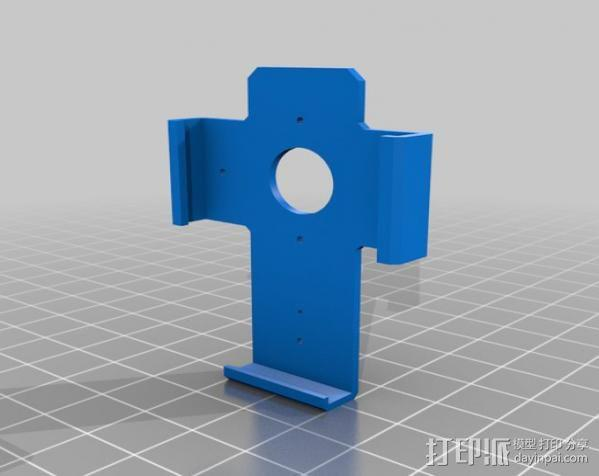壁挂式Ipod 播放器支架 3D模型  图2
