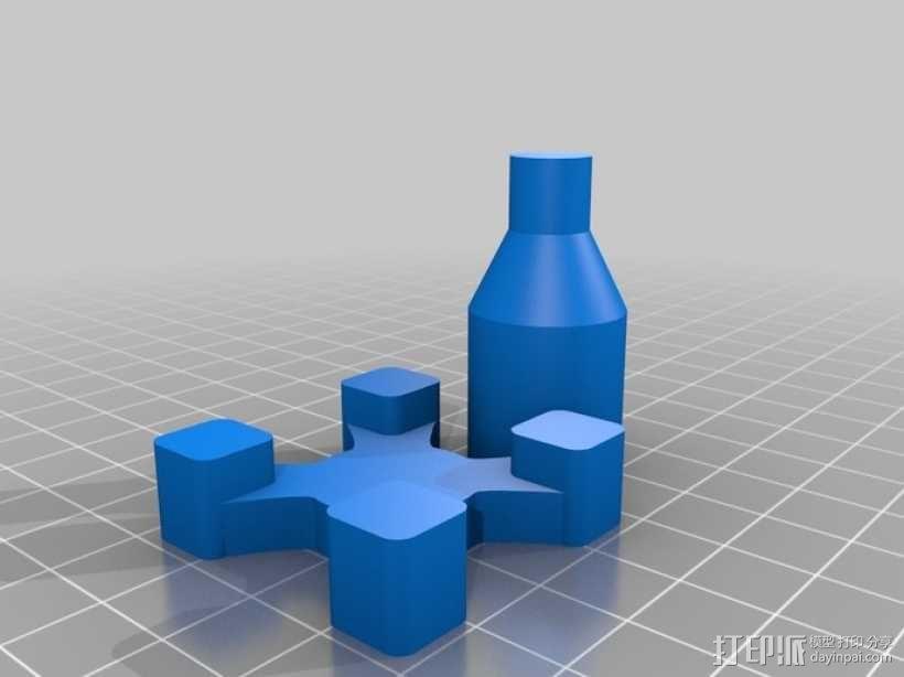 控制杆 3D模型  图4