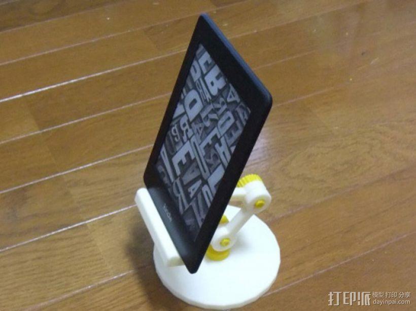 通用式电子阅读器支架 3D模型  图1