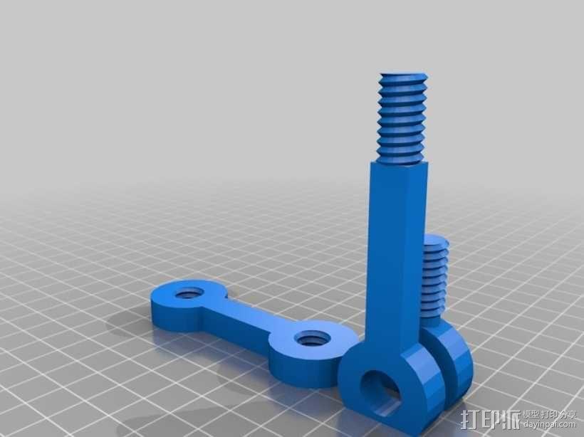 通用式电子阅读器支架 3D模型  图6