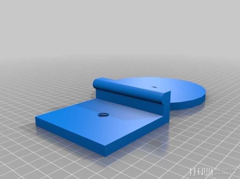 通用式电子阅读器支架 3D模型  图8