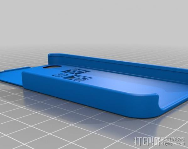 IPhone 4S手机外壳 3D模型  图2