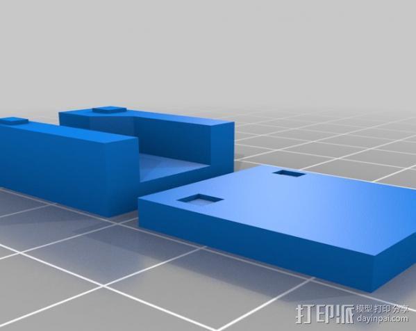 三星Galaxy S3 & S4手机支架 3D模型  图2