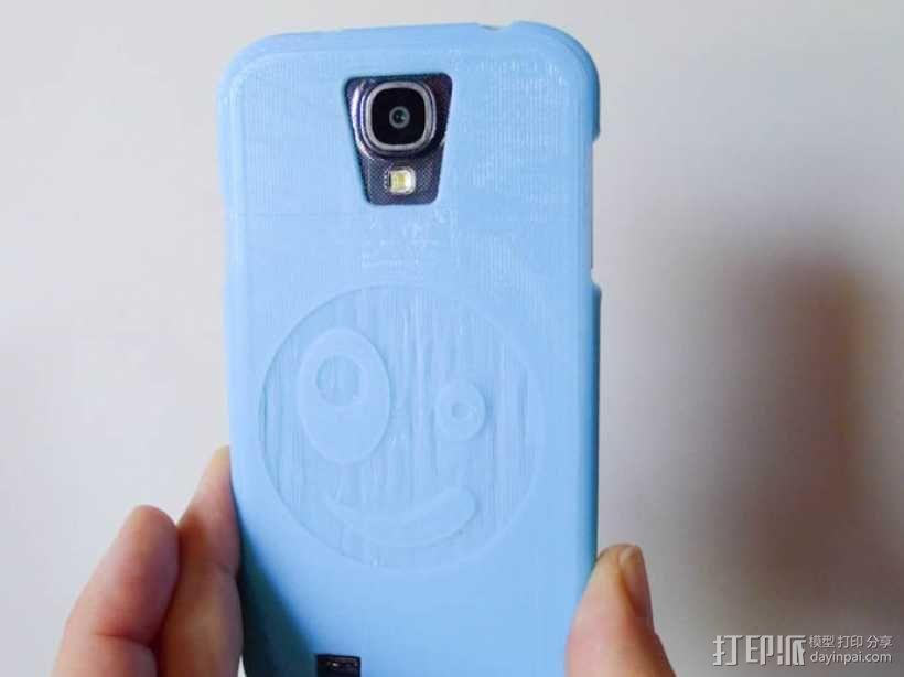 Galaxy S4 手机保护外壳 3D模型  图1