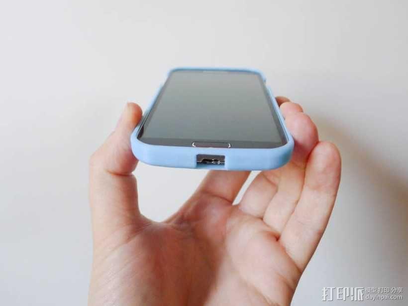 Galaxy S4 手机保护外壳 3D模型  图3
