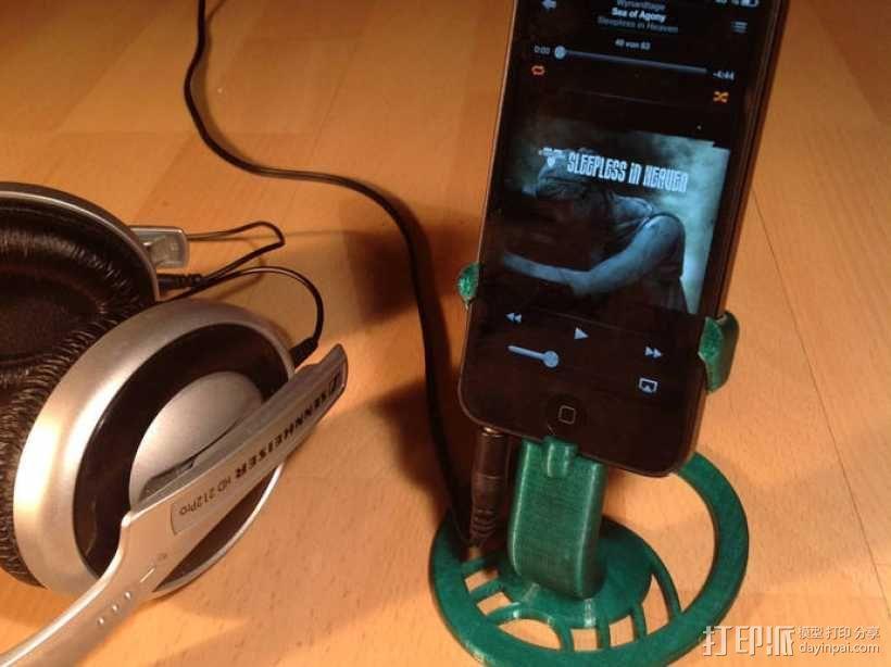 iPhone 5手机支架 3D模型  图1