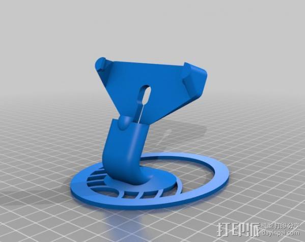iPhone 5手机支架 3D模型  图5