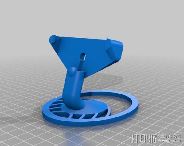 iPhone 5手机支架 3D模型  图4