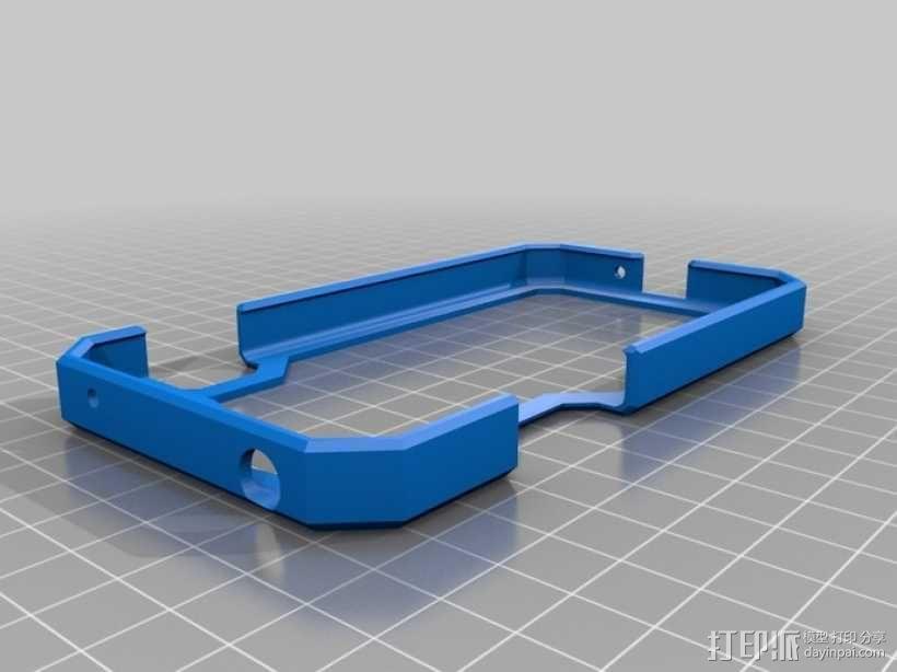 Nexus 4手机保护框 3D模型  图2