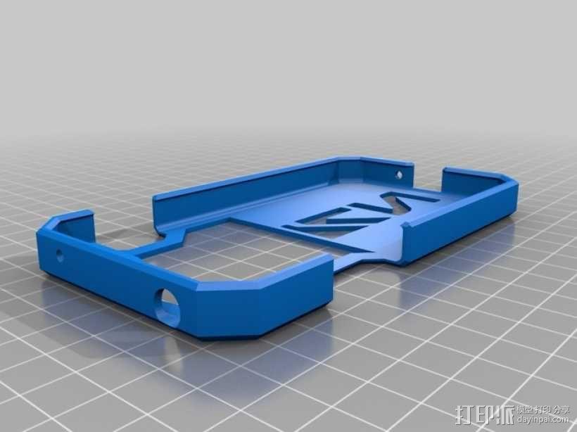 Nexus 4手机保护框 3D模型  图1