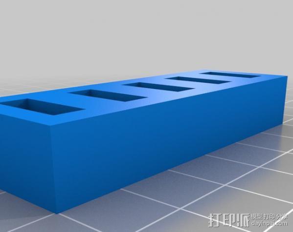 USB收纳器 3D模型  图2