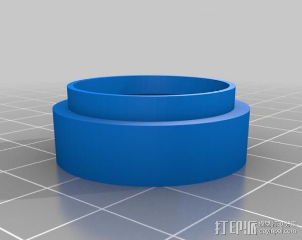 相机镜头延伸管 3D模型  图3