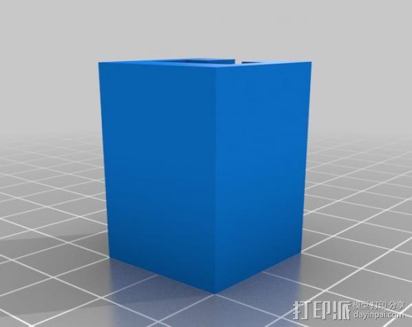 三星Galaxy S3几何球形手机支架 3D模型  图3