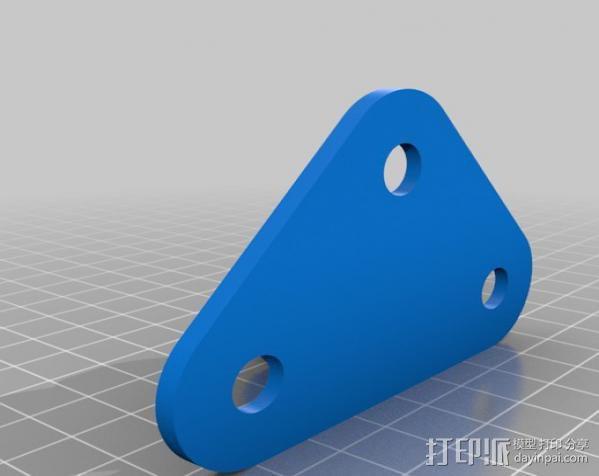 吸盘架 3D模型  图2