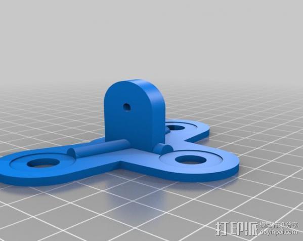 吸盘架 3D模型  图6