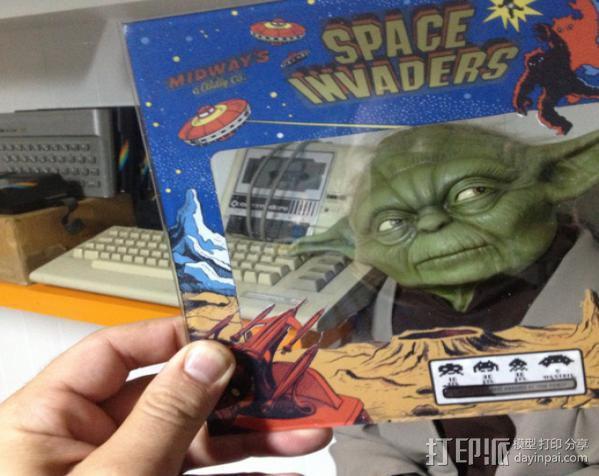 太空入侵游戏机 3D模型  图11