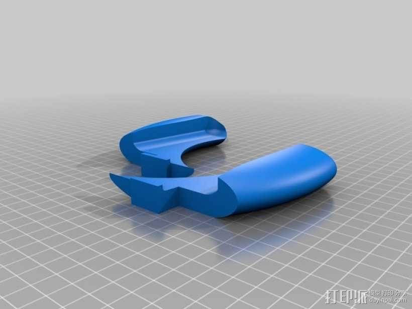 任天堂游戏机手柄 3D模型  图2