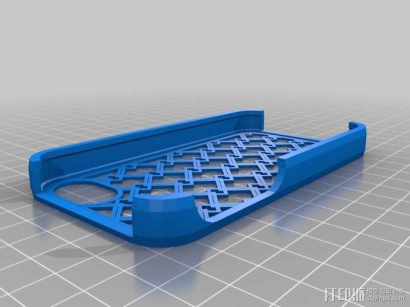 网格iPhone手机外壳 3D模型  图1