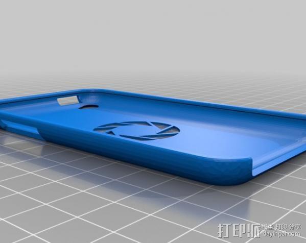 iPhone 手机套 iPod Touch 4播放器保护套  3D模型  图2