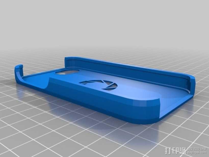 iPhone 手机套 iPod Touch 4播放器保护套  3D模型  图1