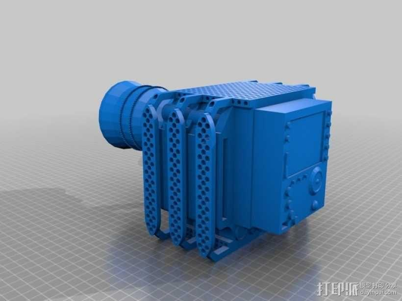 RED Epic摄像机 3D模型  图1