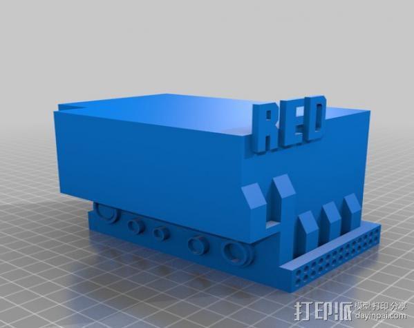 RED Epic摄像机 3D模型  图2
