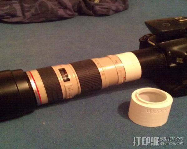 Canon EF相机镜头延伸管 3D模型  图3