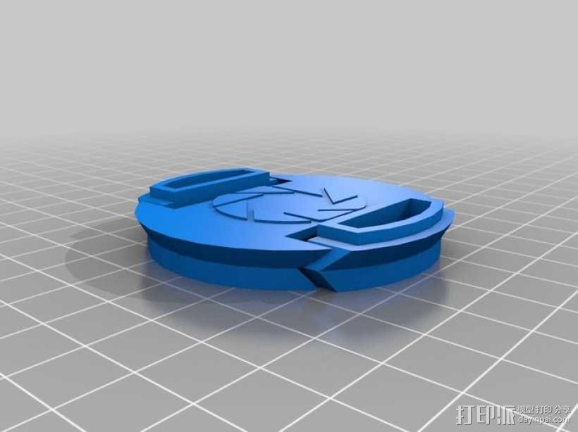 弹力镜头盖 3D模型  图2