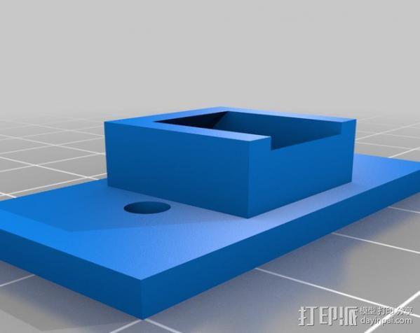 人形手机支架 3D模型  图3